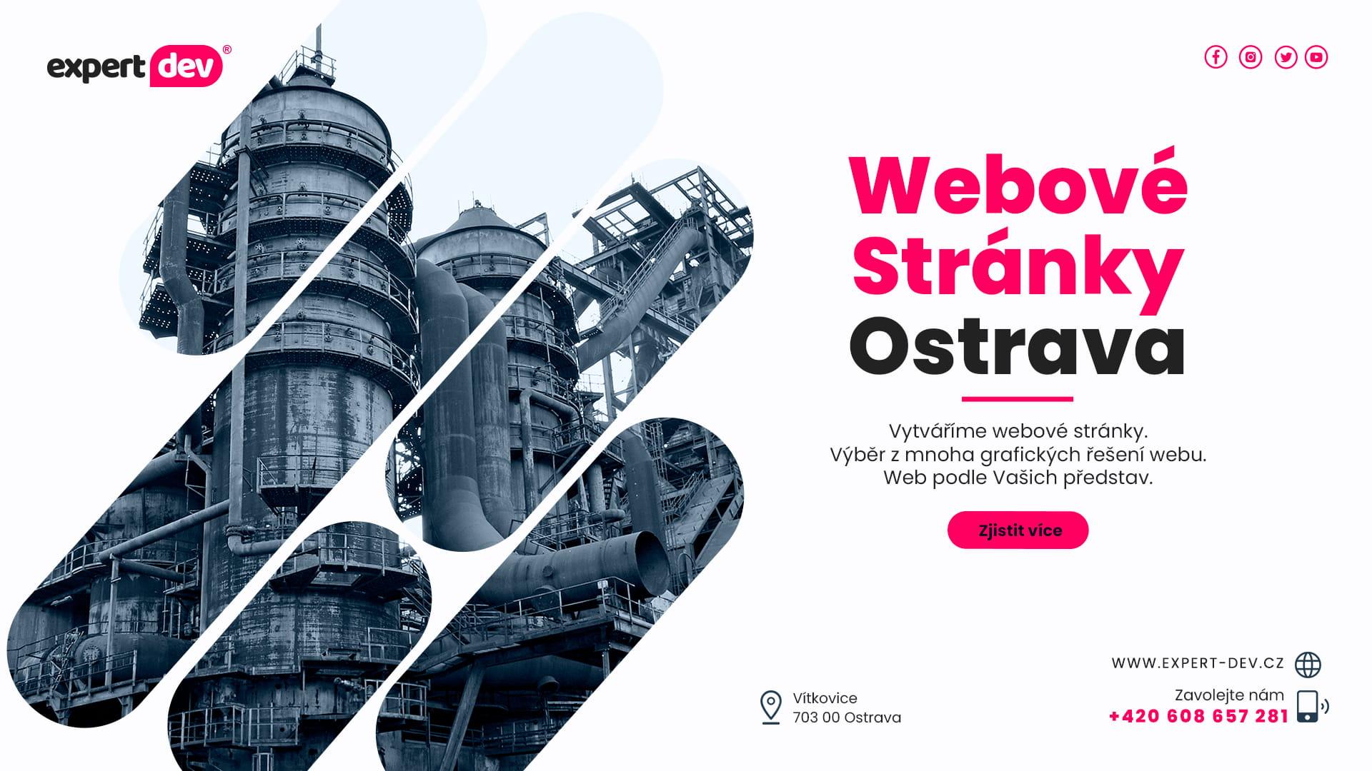 Tvorba webových stránek Ostrava   Vítkovice